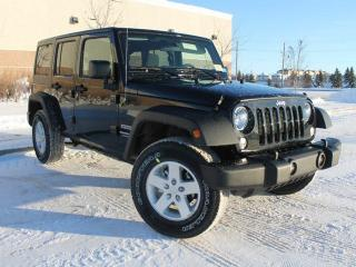 Used 2018 Jeep Wrangler JK Unlimited Sport 4x4 for sale in Edmonton, AB