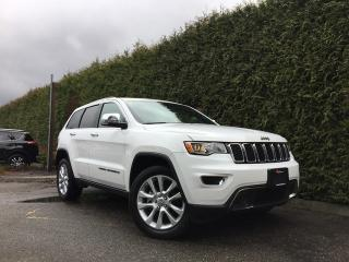 Used 2017 Jeep Grand Cherokee Limited 4x4 + SUNROOF + LEATHER HEATED FT/RR SEATS + BACK-UP CAMERA + REAR PARK ASSIST for sale in Surrey, BC