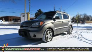 Used 2011 Kia Soul 2U|NO ACCIDENT|ALLOY WHEELS|BLUETOOTH|CERTIFIED for sale in Oakville, ON