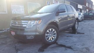 Used 2010 Ford Edge Limited-AWD-LEATHER-HEATED SEATS-CHROME WHEELS for sale in Tilbury, ON