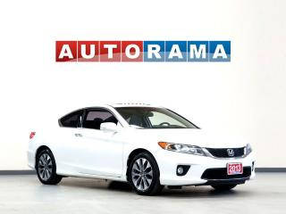 Used 2013 Honda Accord NAVIGATION LEATHER SUNROOF BACKUP CAMERA COUPE for sale in North York, ON