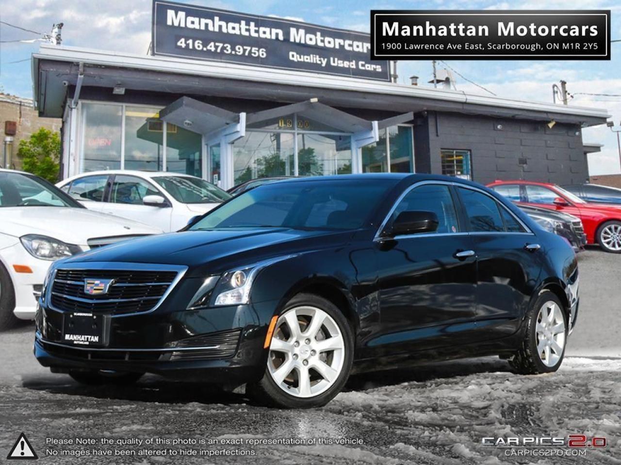 2015 Cadillac ATS AWD 2.0T PREMIUM |BLUETOOTH|WARRANTY|ONLY 64000KM