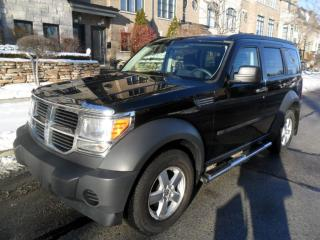 Used 2007 Dodge Nitro SE, 4X4, NO ACCIDENTS, CERTIFIED, NEW TIRES for sale in Etobicoke, ON