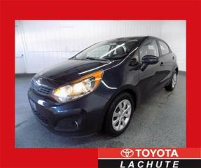 Used 2013 Kia Rio Lx Gar for sale in Lachute, QC