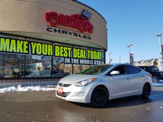 Used 2013 Hyundai Elantra Limited w/Navi P-ROOF LEATHER BLUETOOTH for sale in Scarborough, ON