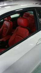 Used 2009 BMW 328xi White on red leather for sale in York, ON
