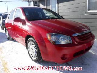 Used 2006 Kia SPECTRA5  4D HATCHBACK for sale in Calgary, AB