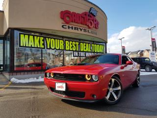 Used 2017 Dodge Challenger R/T Shaker P-ROOF NAVI R'MOTE START S H A K E R for sale in Scarborough, ON