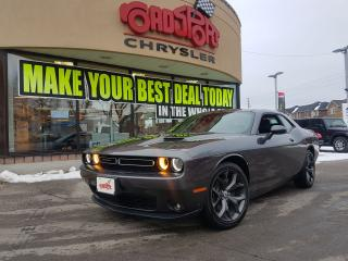 Used 2017 Dodge Challenger SXT Plus P-ROOF REAR CAM LEATHER 20' WLS  NAVI for sale in Scarborough, ON
