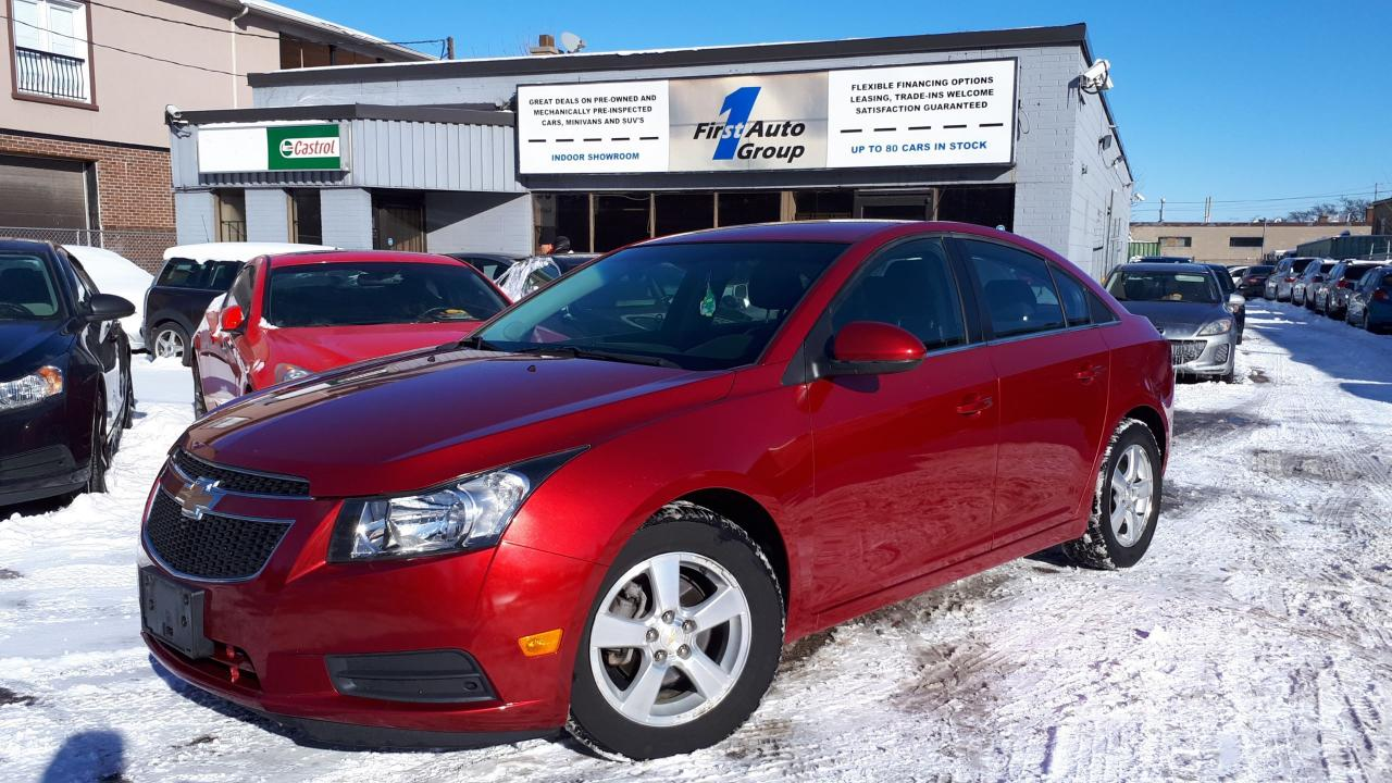 2011 Chevrolet Cruze LT Turbo+ w/1SB REMOTE START, BLUETOOTH