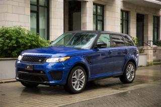 Used 2015 Land Rover Range Rover Sport SVR for sale in Vancouver, BC