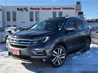 Used 2016 Honda Pilot Touring - Navigation - Panoramic Roof for sale in Mississauga, ON