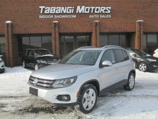 Used 2014 Volkswagen Tiguan AWD | PANORAMIC ROOF | LEATHER | HEATED SEATS | for sale in Mississauga, ON