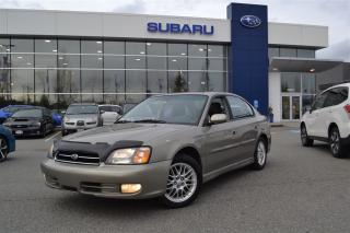 Used 2001 Subaru Legacy GT AWD for sale in Port Coquitlam, BC