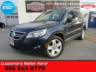 Used 2011 Volkswagen Tiguan 2.0 TSI Highline  AWD (NEW TIRES) NAV LEATH ROOF RAIN-SENS DUAL-CLIM for sale in St Catharines, ON