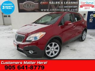 Used 2014 Buick Encore Premium  NAV LEATH ROOF LANE-DEPART BLINDSPOT BOSE  RAIN-SENS for sale in St Catharines, ON