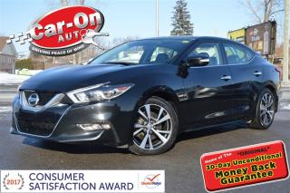 Used 2016 Nissan Maxima SL LEATHER NAV PANO ROOF HTD SEATS LOADED for sale in Ottawa, ON