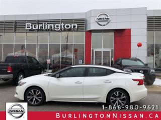 Used 2016 Nissan Maxima Platinum, ACCIDENT FREE, 1 OWNER ! for sale in Burlington, ON