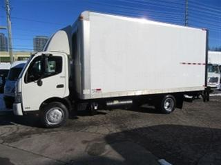 Used 2013 Hino 195 Diesel with custom 18 ft alum box plus liftgate for sale in Richmond Hill, ON