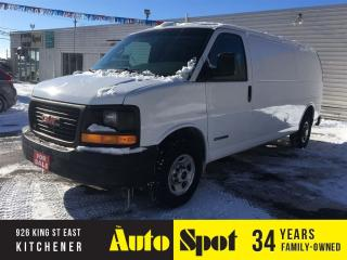 Used 2004 GMC Savana PRICED FOR A QUICK SALE ! for sale in Kitchener, ON