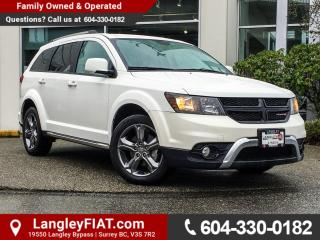 Used 2017 Dodge Journey Crossroad B.C OWNED! for sale in Surrey, BC