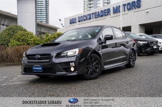 Used 2015 Subaru WRX 4Dr Sport-Tech Pkg 6sp LEATHER - SUNROOF - PUSH START for sale in Vancouver, BC