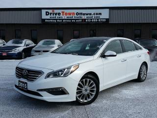 Used 2015 Hyundai Sonata 2.4L LIMITED  **LEATHER**NAV**PANAROOf** for sale in Gloucester, ON