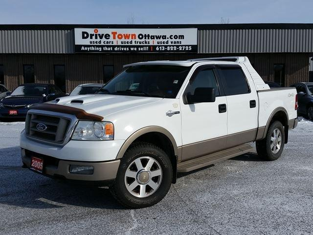 used 2005 ford f 150 king ranch crew 4x4 for sale in gloucester ontario. Black Bedroom Furniture Sets. Home Design Ideas