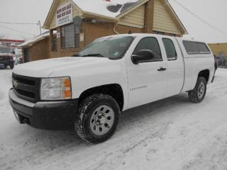 Used 2008 Chevrolet Silverado 1500 WT 4X4 5.3L V8 Extended Cab 6.5Ft Box ONLY 135Km for sale in Etobicoke, ON