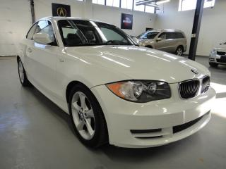 Used 2010 BMW 1 Series  128i COUPE ONE OWNER CLEAN CARPROOF  for sale in North York, ON