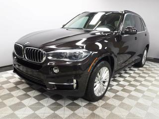 Used 2015 BMW X5 xDrive35i - Local One Owner Trade In | No Accidents | 3M Protection Applied | 2 Sets of Tires Included | Seats 7 | Rear DVD | Navigation | Surround Camera System | Parking Sensors | Panoramic Sunroof | Power Liftgate | Heated Front/Rear Seats | Multi Zone for sale in Edmonton, AB