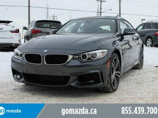 Used 2016 BMW 435 Gran Coupe AWD M PERFORMANCE PREMIUM ENHANCED ACCIDENT FREE for sale in Edmonton, AB