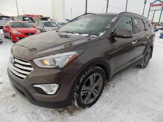 Used 2014 Hyundai Santa Fe XL LIMITED/NAV/PANO ROOF/LEATHER for sale in Edmonton, AB