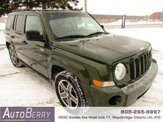 Used 2008 Jeep Patriot SPORT - 4WD - 5 SPEED for sale in Woodbridge, ON