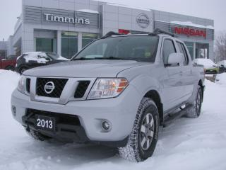 Used 2013 Nissan Frontier Pro-4X for sale in Timmins, ON
