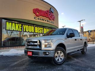 Used 2016 Ford F-150 XLT SUPERCREW 4X4 BEDLINER for sale in Scarborough, ON
