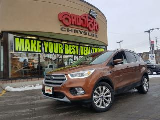Used 2017 Ford Escape Titanium PANO ROOF LTHE NAVI REAR CAM HITCH 4X4 for sale in Scarborough, ON