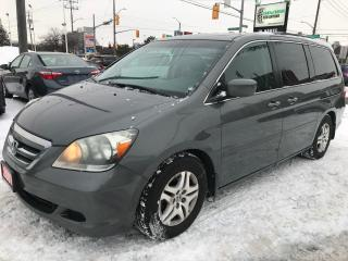 Used 2007 Honda Odyssey EX-L l 8 Passenger l Leather Heated Seats for sale in Waterloo, ON