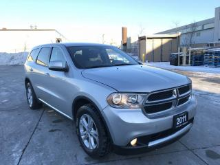 Used 2011 Dodge Durango AWD,MintCondition,Certify,Auto, 3/Ywarr. available for sale in North York, ON