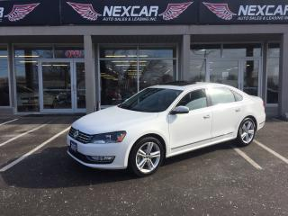 Used 2013 Volkswagen Passat 2.5L HIGHLINE AUT0 LEATHER SUNROOF REAR CAMERA 99K for sale in North York, ON