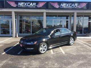 Used 2014 Volkswagen Passat 1.8 TSI HIGHLINE AUT0 NAVI LEATHER SUNROOF 79K for sale in North York, ON