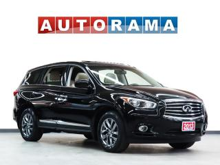 Used 2013 Infiniti JX35 NAVIGATION LEATHER SUNROOF 7 PASS AWD BACKUP CAMER for sale in North York, ON