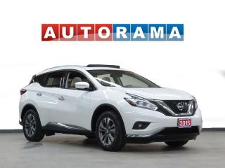 Used 2015 Nissan Murano SL NAVIGATION LEATHER PAN SUNROOF 4WD BACKUP CAM for sale in North York, ON