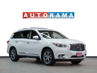 Used 2014 Infiniti QX60 NAVIGATION LEATHER SUNROOF 7 PASS AWD BACKUP CAM for sale in North York, ON