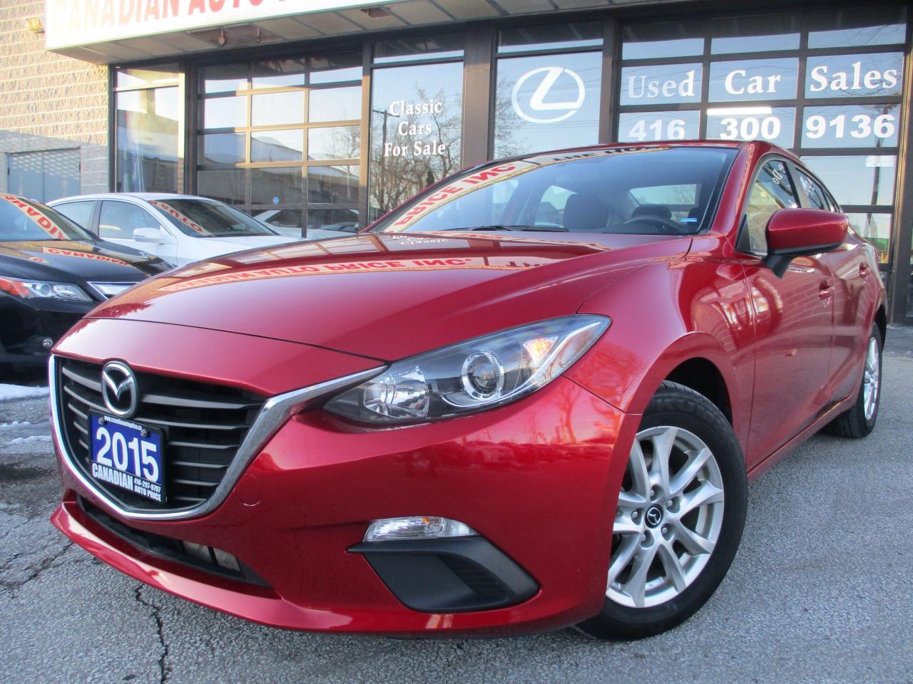 2015 Mazda MAZDA3 GS-SKY-BACK UP CAMERA-BLUETOOTH-PUSH BATTON START-
