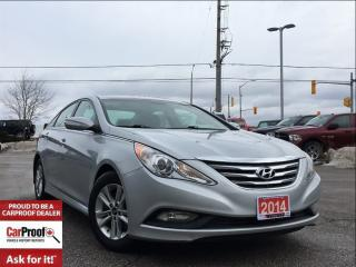 Used 2014 Hyundai Sonata GLS**POWER SUNROOF**BACK UP CAMERA** for sale in Mississauga, ON