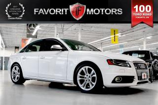 Used 2012 Audi S4 3.0 QUATTRO | ALCANTARA | NAV | REAR PARK ASSIST for sale in North York, ON
