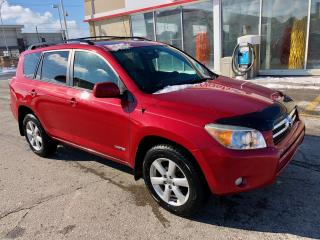 Used 2006 Toyota RAV4 Limited, 4WD, sunroof, dealer serviced, for sale in Hornby, ON