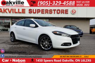 Used 2014 Dodge Dart SXT | 8.4 UCONNECT | SUNROOF | BLUETOOTH for sale in Oakville, ON