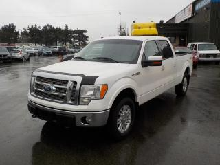 Used 2010 Ford F-150 Lariat SuperCrew 6.5-ft. Bed 4WD for sale in Burnaby, BC